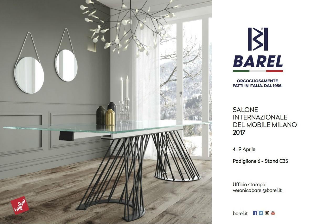 Salone internazionale del mobile anteprima barel complementi d 39 arredo made in italy - Fiera del mobile parigi 2017 ...